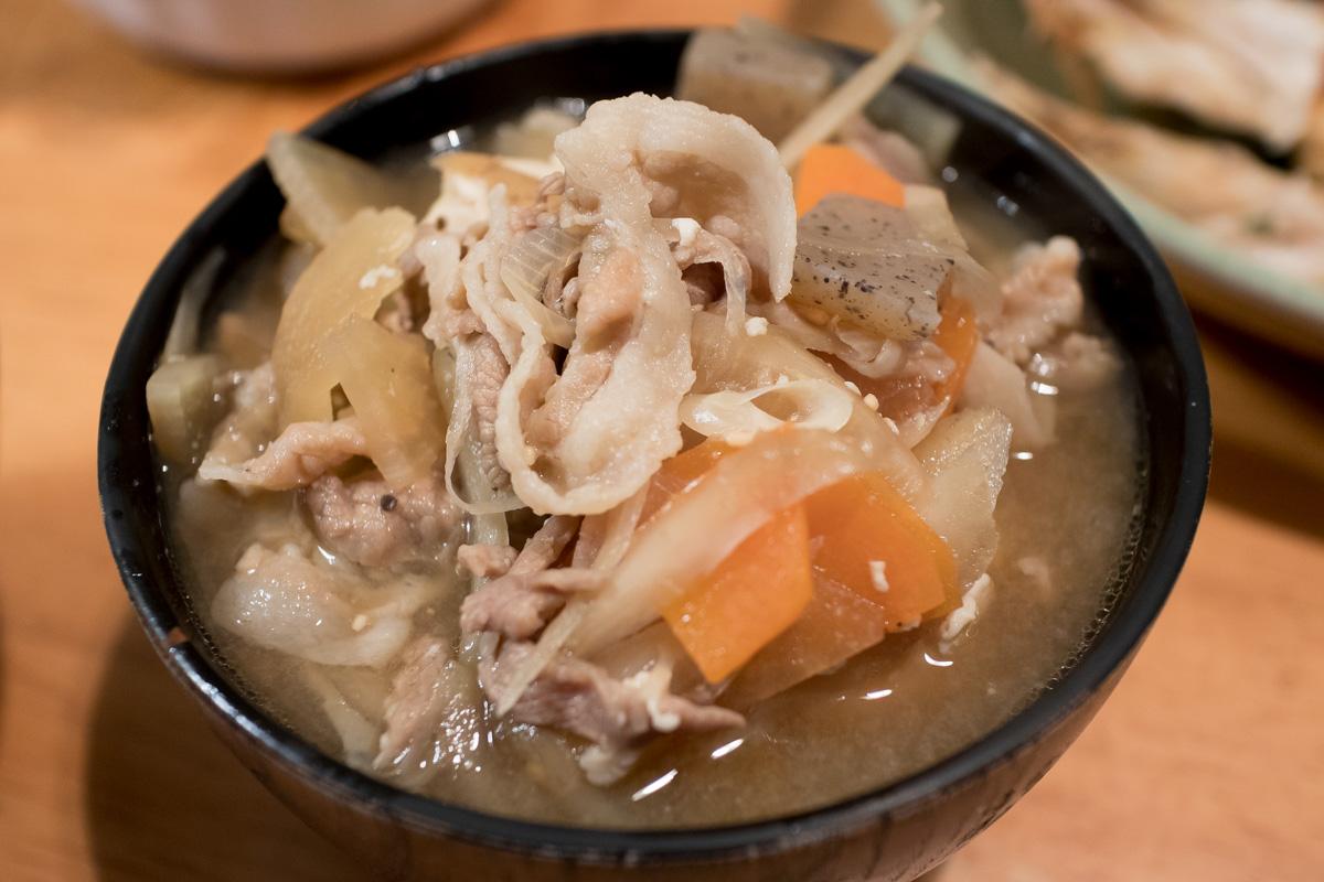 男の料理レシピ:ぽちカフェ男の料理レシピ:  豚汁